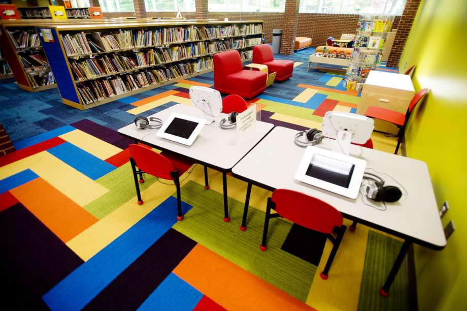 Grace A. Dow Library Children's Area