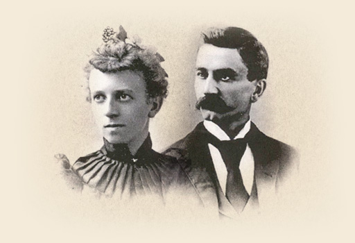 Portraits of Grace A. and Herbert H. Dow
