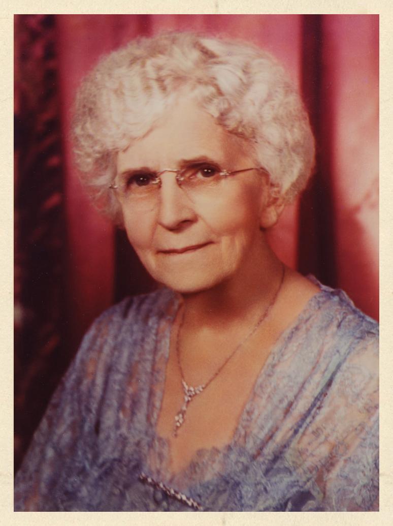 Portrait of Grace A. Dow
